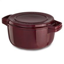 KitchenAid® Professional Cast Iron 6-Quart Casserole - Royal Red