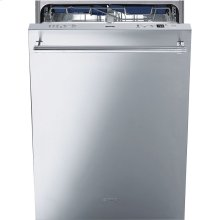 """60CM (Approx. 24"""") Pre-Finished Dishwasher with Finger Print-Proof Stainless Steel, Maxi-Height Door and Professional Handle"""