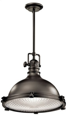 "Hatteras Bay 16"" 1 Light Pendant Olde Bronze®"