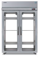 Refrigerator, Pass Thru Upright, Two Section, Full Glass Door Product Image