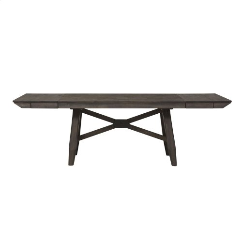 Opt 6 Piece Trestle Table Set
