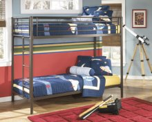 Twin/Twin Metal Bunk Bed