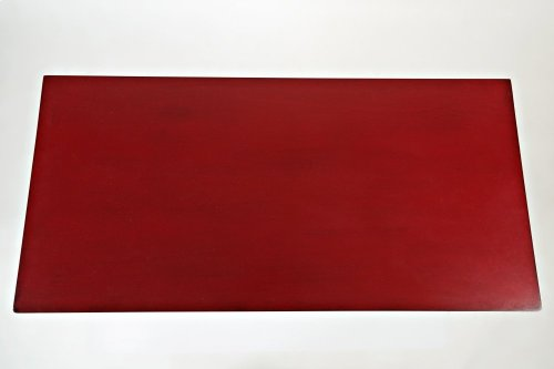 Brighton Park Accent Chest- Vintage Crimson