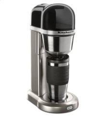 KitchenAid® Personal Coffee Maker with Optimized Brewing Technology - Cocoa Silver