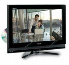 "26"" Diagonal REGZA® LCDVD TV"