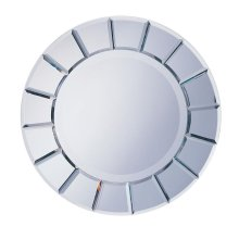 Round Sun-Shape Mirror