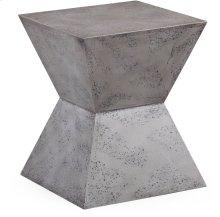 Everly Concrete Square Stool