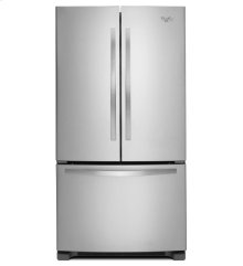 25 cu. ft. French Door Refrigerator with Frameless Glass Shelves
