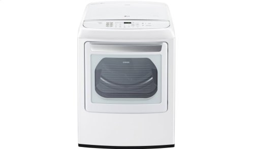 7.3 cu. ft. Large Smart wi-fi Enabled Front Control Gas Dryer with EasyLoad Door