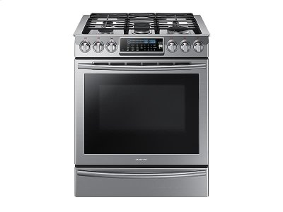 5.8 cu. ft. Slide-In Gas Range with True Convection Product Image