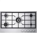 Gas on Steel Cooktop 36&quot; 5 Burner <LPG>