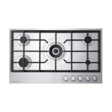 "Gas on Steel Cooktop 36"" 5 Burner (LPG)"