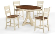 Single Pedestal Table (buttermilk)
