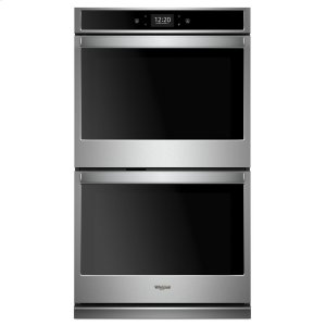 10.0 cu. ft. Smart Double Wall Oven with True Convection Cooking - STAINLESS STEEL