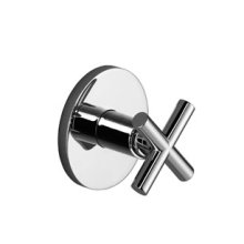 Wall mounted two- and three-way diverter trim - chrome