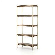 Simien Bookshelf-aged Brass