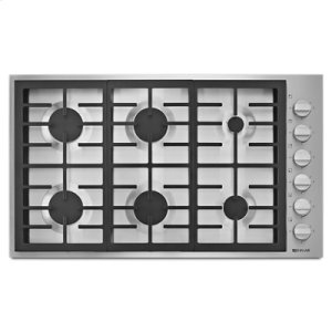 "Jenn-AirPro-Style(R) 36"" 6-Burner Gas Cooktop"