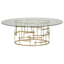 Giuliana Dining Table - Gold