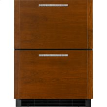 24-inch Under Counter Double-Refrigerator Drawers, Panel Ready