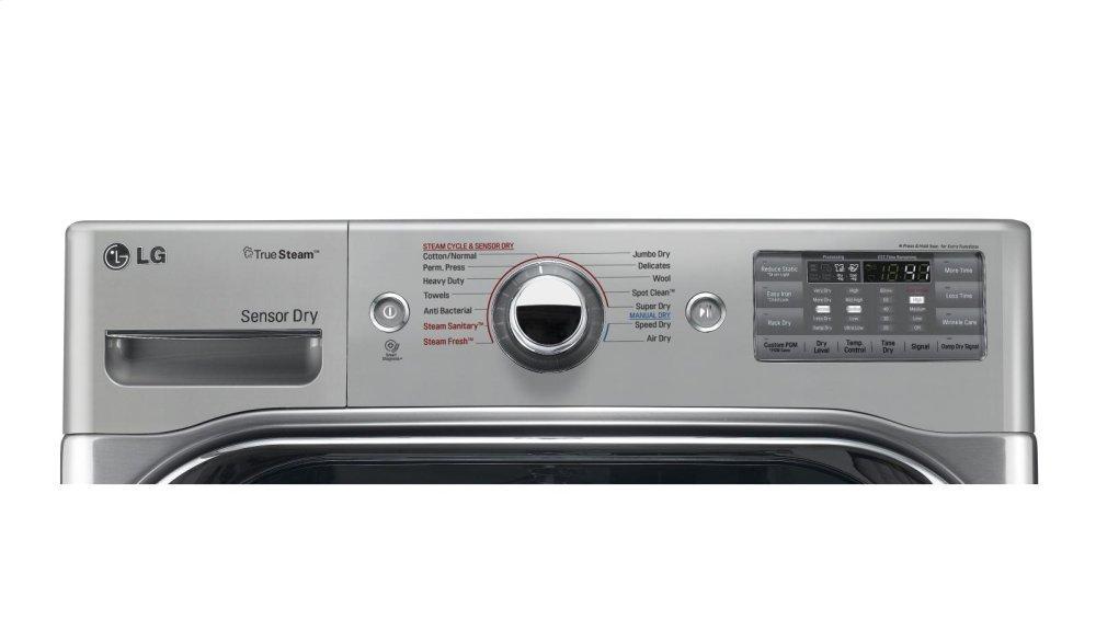 Lg Liances 9 0 Cu Ft Mega Capacity Gas Dryer W Steam Technology