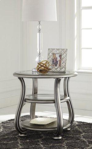 T820-6  Round End Table