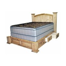 King Mansion Storage Bed