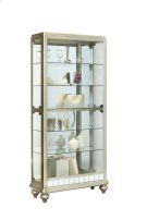 Mirrored Metallic Side Entry Curio Product Image