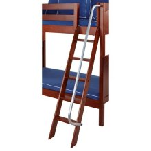 Angle Ladder for High Bunk : Chestnut