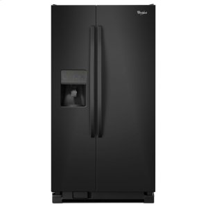 WHIRLPOOL33-inch Wide Side-by-Side Refrigerator with Water Dispenser - 21 cu. ft.