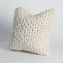 Noodle Felt Pillow-Bone