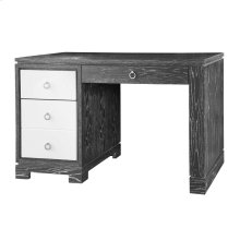 Brooke Desk w/ Chrome Pulls, Gray