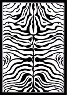Legends Zebra Skin Rugs