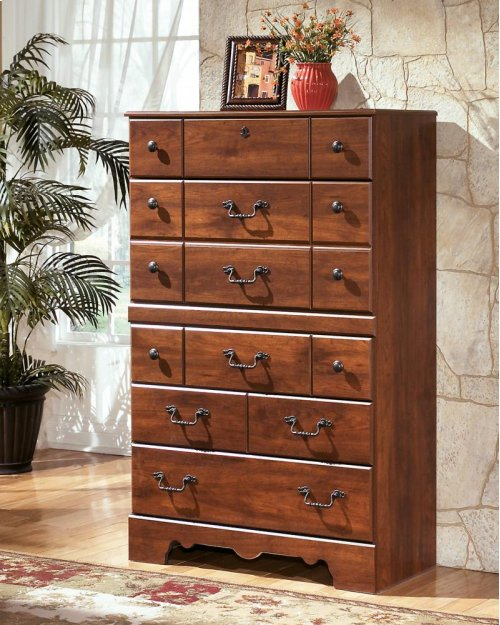 RED HOT BUY- BE HAPPY !  Five Drawer Chest