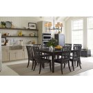 Everyday Dining by Rachael Ray Gathering Rect to Square Leg Table - Peppercorn Product Image