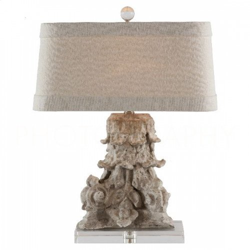 Corinthian Fragment Table Lamp