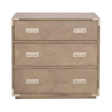 Voyage 3-Drawer Nightstand