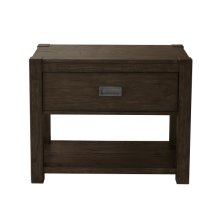Modern Farmhouse Dark Oak Nightstand