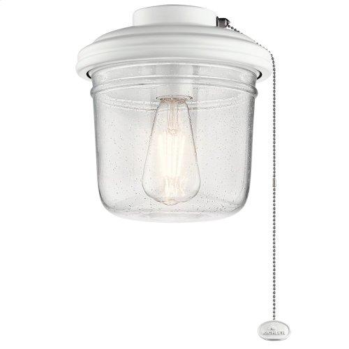 Yorke Collection Yorke Ceiling Fan Light Kit MWH