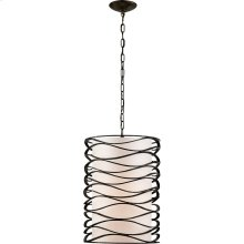 Visual Comfort S5046AI-L Barry Goralnick Bracelet 1 Light 16 inch Aged Iron Pendant Ceiling Light