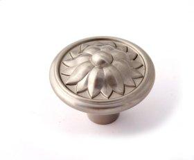Fiore Knob A1472 - Satin Nickel