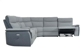 POWER Left Side Reclining Chair with Power Headrest