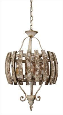 Carolina 3-lt Chandelier