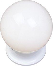 Essentials 1-Light Flush Mount
