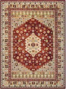 Aria Ar004 Brick Rectangle Rug 5'3'' X 7'3''