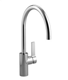 Single-lever mixer - chrome