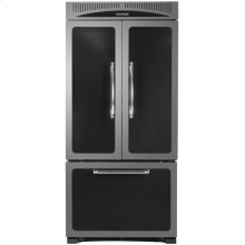 "Black 36"" Classic French Door Refrigerator - Model HCFDR20"