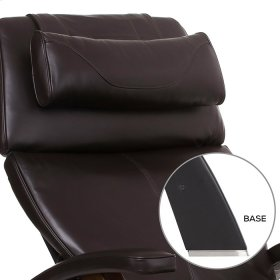 """Perfect Chair PC-LiVE """" PC-610 Omni-Motion Classic - Espresso Premium Leather - Matte Black"""