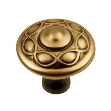 1-3/8 In. Tresse Knob - Winchester Brass / regular