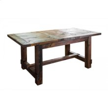 Country Extendable Dining Table- Small
