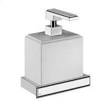 Wall-mounted liquid soap dispenser in Neolyte